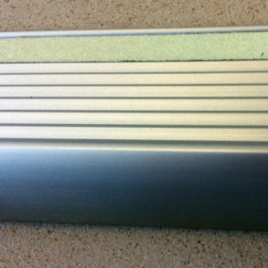Glow Aluminium Stair Tread- 25mm x 48mm x 3600m
