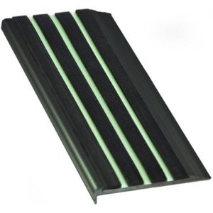 Black 10mm x 71mm x 3620mm Luminous Insert Range