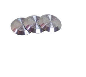 Stainless Steel Tactile Stud - Flat Base