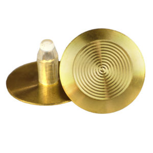 Brass Tactile with 20mm self-locking stem