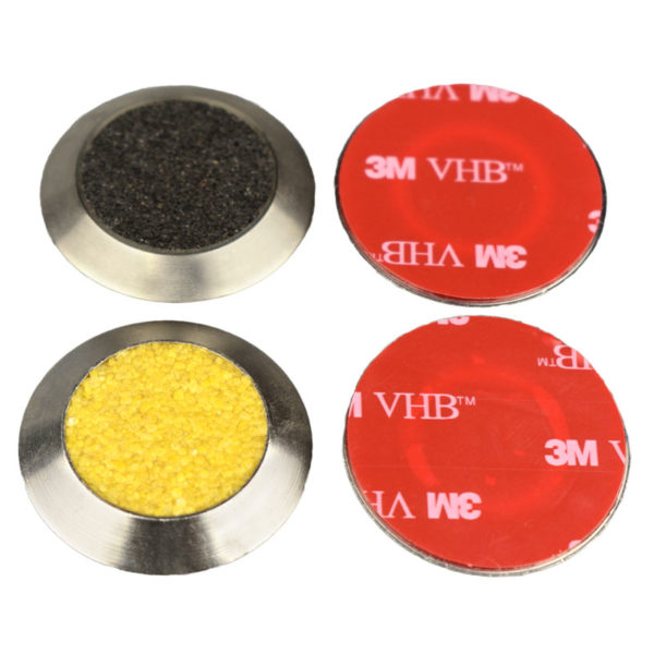 Self Stick - Stainless Steel Tactile with Carborundum Infill