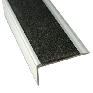 Anodised Aluminium Stair Nosing - 37mm x 71mm