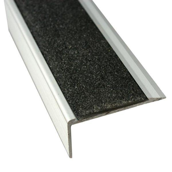 Anodised Aluminium Stair Nosing - 37mm x 71mm