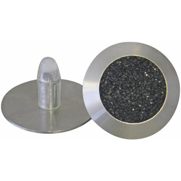 Stainless Steel Tactile with Carborundum Insert