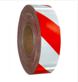 Red/White Class 1 Reflective Tape