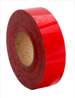 Red Class 1 Reflective Tape